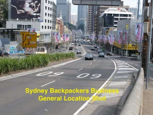 Sydney Australia Backpackers Business