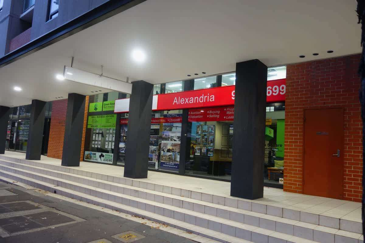 Retail Commercial Property Frontage