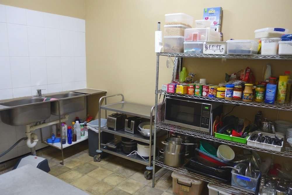 Boarding House Kitchen Side